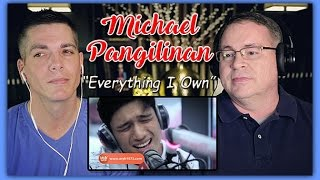 "Michael Pangilinan Reaction | ""Everything I Own"" (Bread) LIVE on Wish 107.5 Bus"