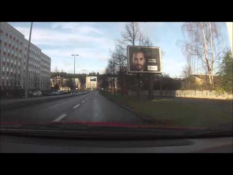 A Nice Drive Through Jönköping - Sweden