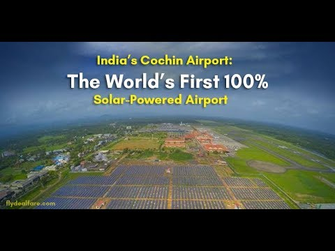 World's First Green Airport- Cochin Mahbub PKG BTV on air 05