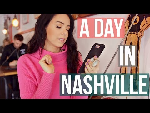 A Day In My Life in NASHVILLE!