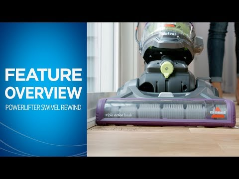 Powerlifter™ Swivel Rewind Pet Vacuum Cleaner | BISSELL