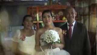 Efren & Chary wedding film1 @ Santiago Agusan del Norte