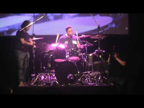 Aaron Spears - Argentina 27/09 - South American Clinic Tour 2016 - Zildjian Tour