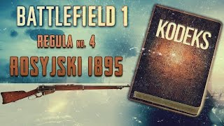 Kodeks Battlefield 1 - Najlepsza broń zwiadowcy: Rosyjski 1895 - BF1 poradnik