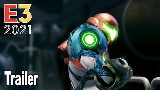 Metroid Dread - Reveal Trailer E3 2021 [HD 1080P]