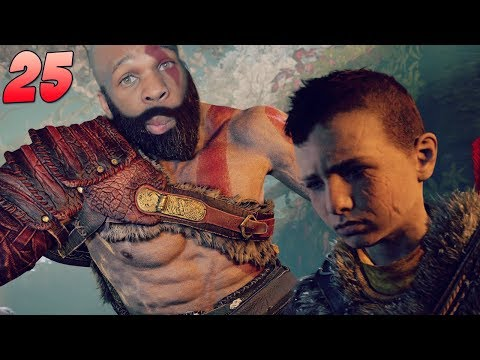 God Of War Walkthrough Gameplay Part 25 - This Boy Lost His Mind 🔥 (God of War 4) (2018)