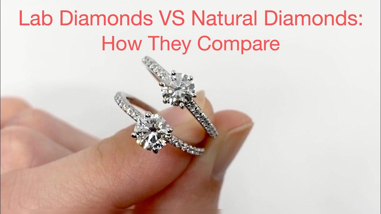 Radiant Cut Engagement Ring: Lab Grown VS Natural Diamond