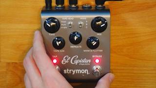 How Does the Strymon El Capistan Sound on Sound Looper Work? (Complete Demo)