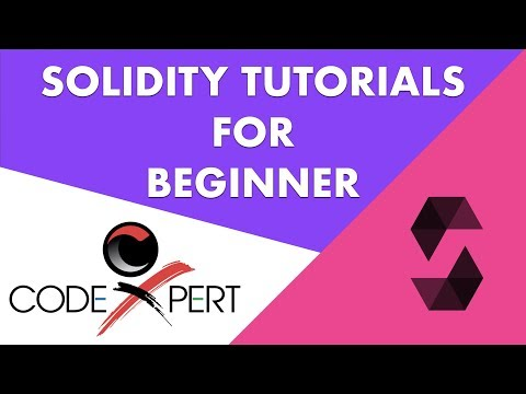 Learn Solidity beginner level tutorial 1 - Resources for reference