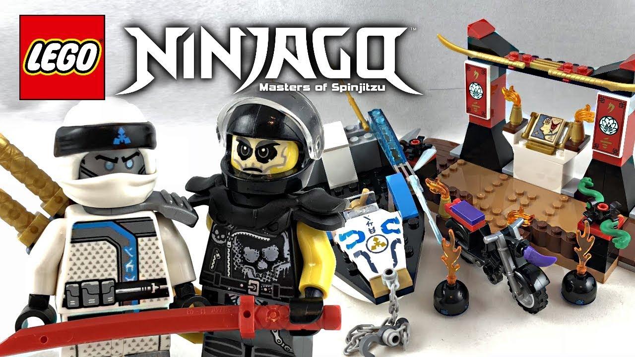LEGO Ninjago Zane's Ninja Boat Pursuit review! 2018 set 10755! - YouTube