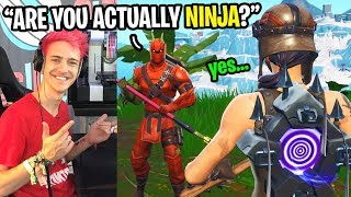 I convinced Ninja's biggest fan that I was ACTUALLY Ninja... (it got emotional) thumbnail