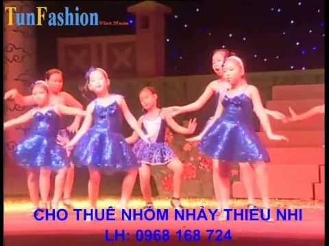 Cho thuê nhóm nhảy, múa thiếu nhi nhảy hiện đại LH:0968 168 724