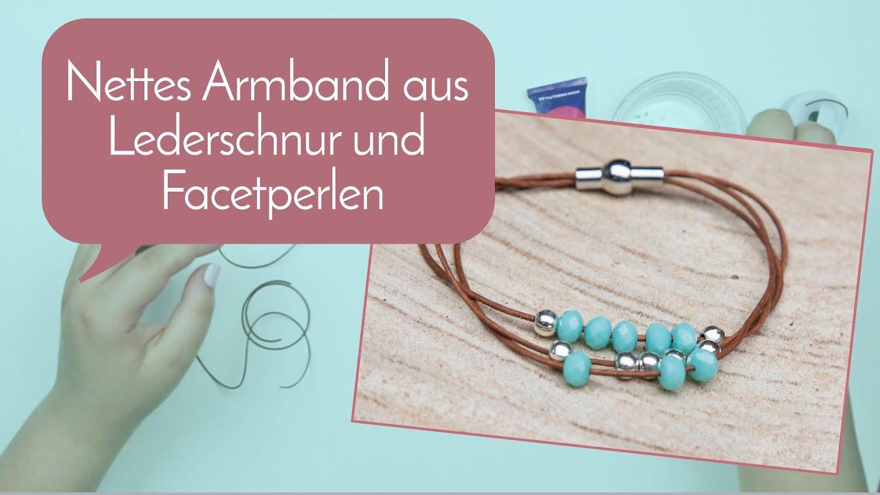 Schmuck machen mit Perlenladen Online - Nettes Armband aus ...