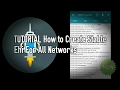 TUTORIAL How to Create Stable Ehi For All Networks With Promo/Default Apn (New!)