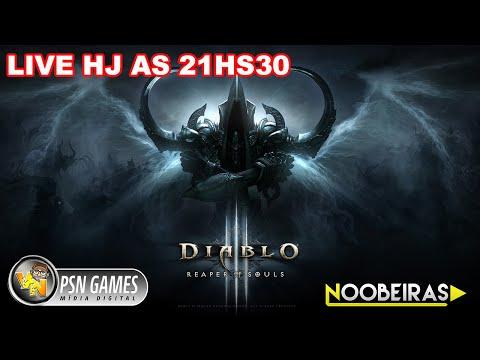 LIVE viciante de Diablo 3 no PS4 com os abigos #NOOBEIRA