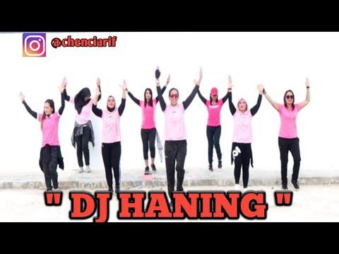 """Dance """" DJ Haning - Lagu Dayak (Viral) /"""" HUT Bhayangkara Ke-73,KUTIM, KALTIM"""