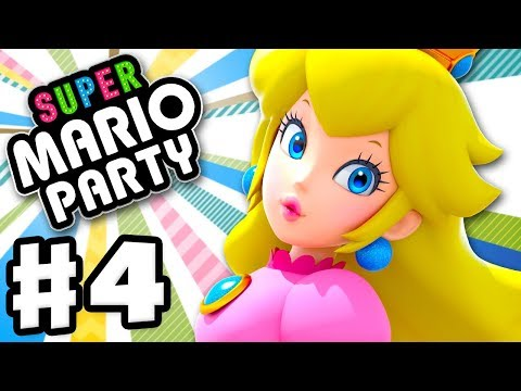 Super Mario Party - Gameplay Walkthrough Part 4 - Kamek's Tantalizing Tower! (Nintendo Switch)