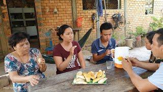 Học làm bánh quai vạc nướng nhân dừa sầu riêng | Miền Tây TV