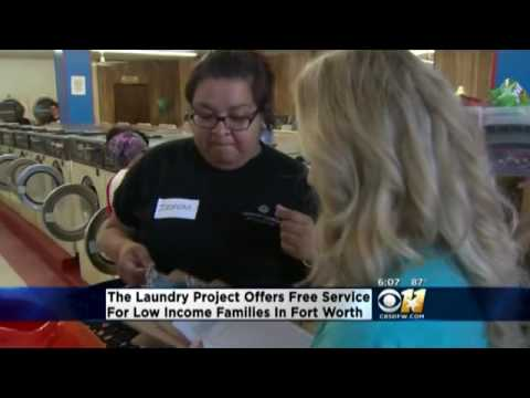CBS DFW Laundry Project Story with Gateway Church