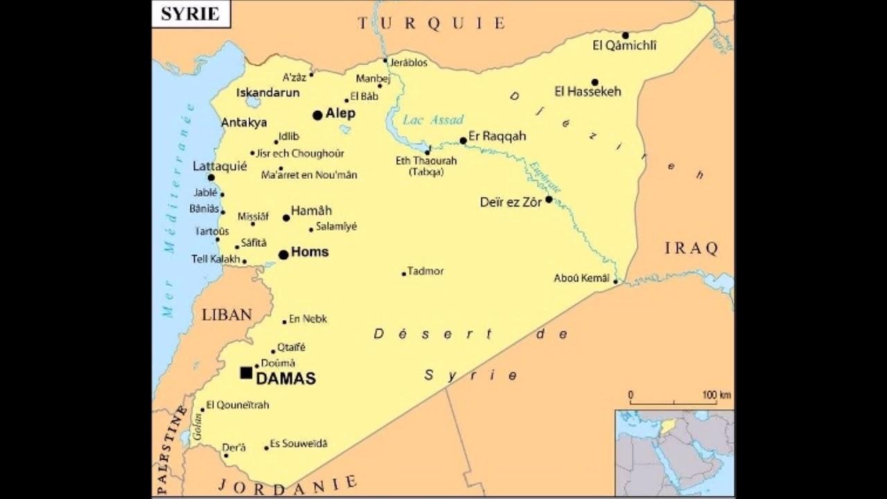 Ma réaction sur France Info aux bombardements de civils à l'arme chimique en Syrie