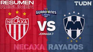 Resumen y goles | Necaxa vs Rayados | Torneo Guard1anes 2021 BBVA MX - J7 | TUDN