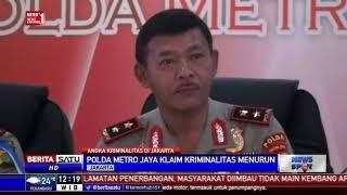 Angka Kriminal di Jakarta Menurun