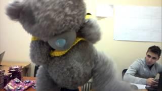 видео Купить плюшевого Мишку Тедди в футболке на заказ в интернет-магазине