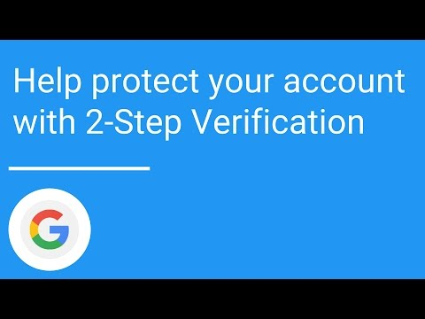 Help protect your account with 2-Step Verification