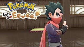 WALKA PRZECIWKO NINJA! - Pokemon Let's Go Eevee #17 [PO POLSKU]