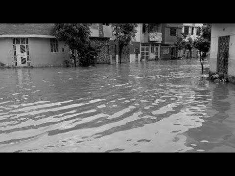 Chiclayo amaneció inundada por intensas lluvias que duraron 7 horas