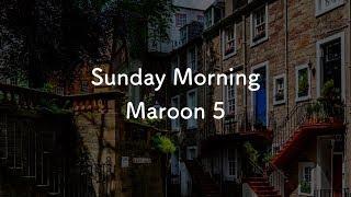 【生音風カラオケ】Sunday Morning - Maroon 5【オフボーカル(Backing Track)】