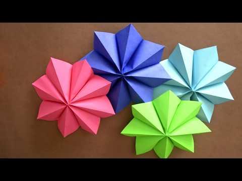 Colourful Star Garland Decoration - Paper - Craft DIY