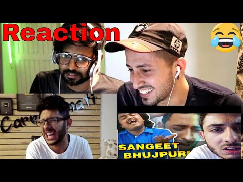 SANGEET BHOJPURI | Reaction on CarryMinati