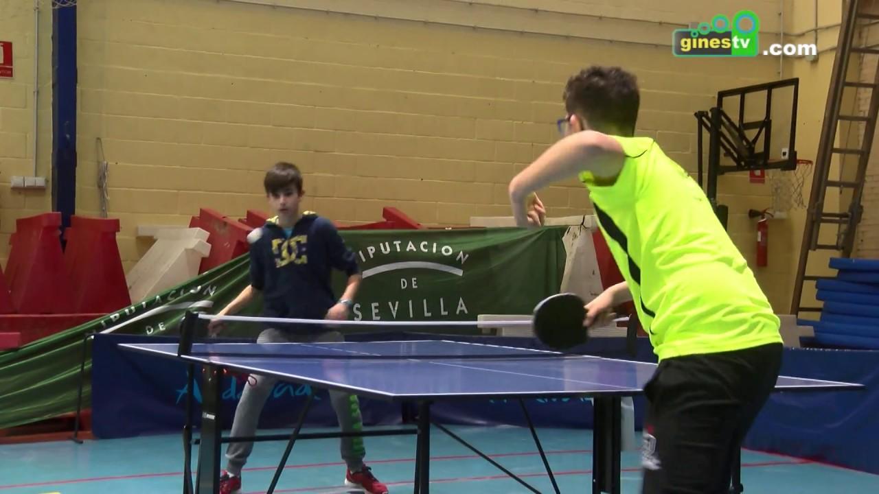 El Pabellón albergó la jornada inaugural de los Juegos Deportivos de Tenis de Mesa