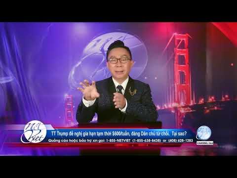 Hot News với Thanh Tùng _Show 75_ Jul 31 2020_ TT Trump đề nghị gia hạn tạm thời $600Ituần…