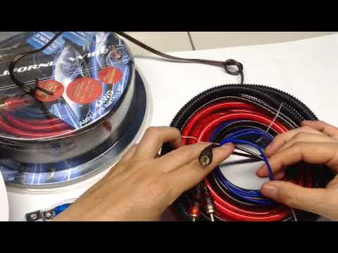 Kit cables California wire