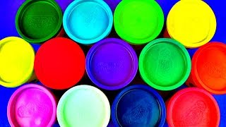 learn colours for children with play doh eggs play learn with toys for kids toddlers babies