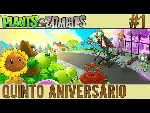Plants vs. Zombies #1 - Quinto Aniversário