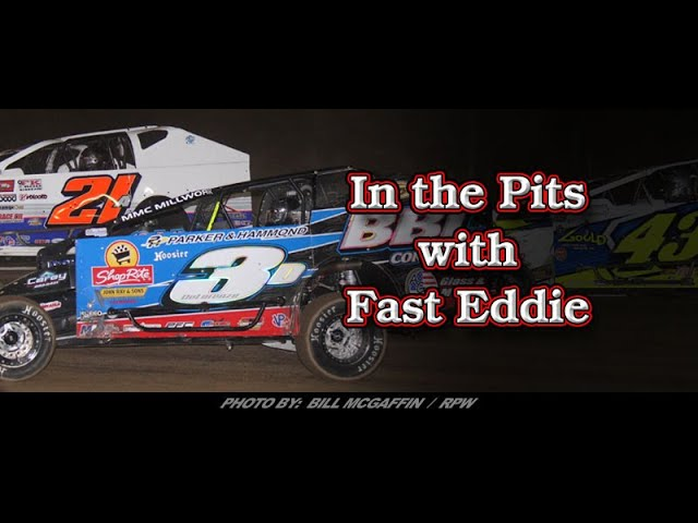 In the Pits with Fast Eddie - Matt Delorenzo - Victory Lane At Albany-Saratoga June 28, 2019
