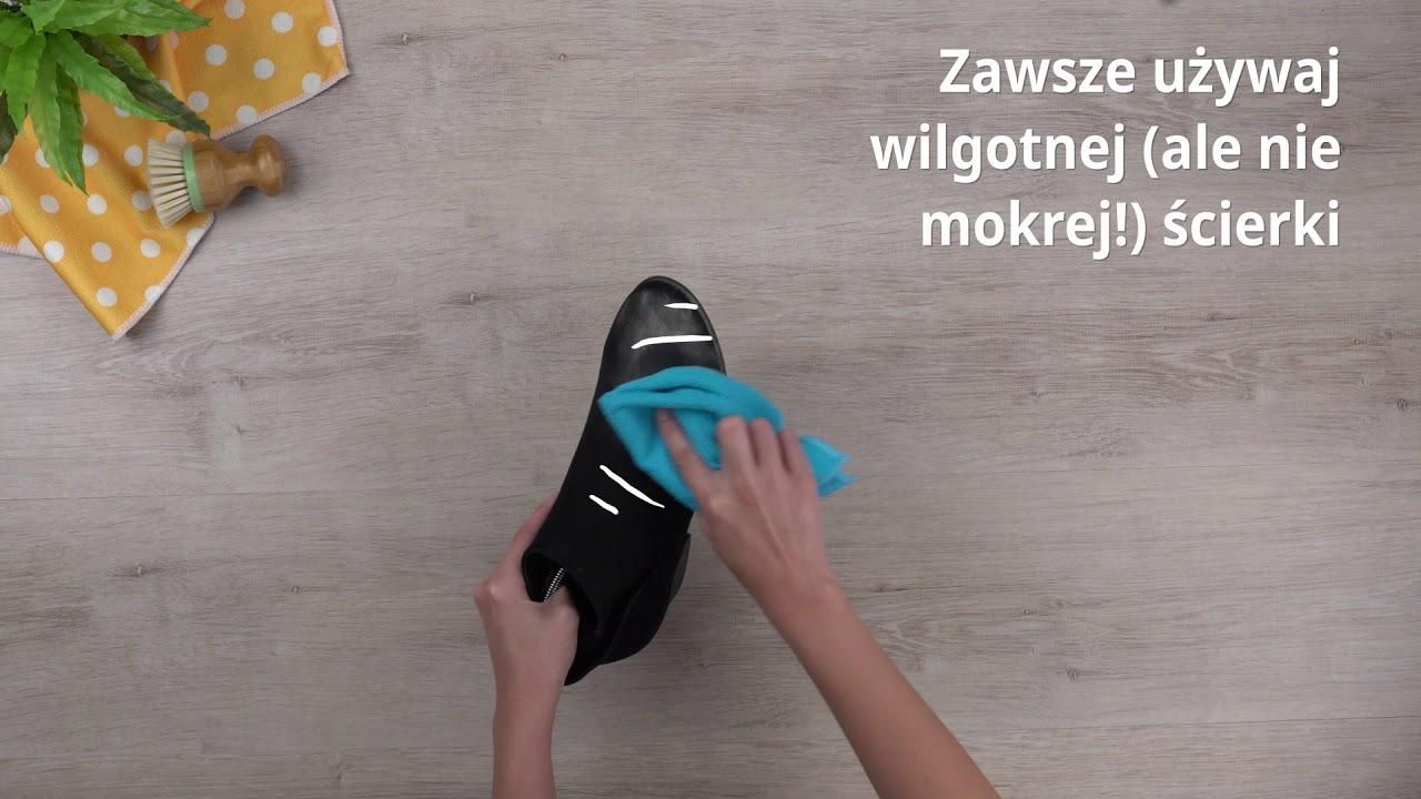 Jak Czyscic Zamszowe Buty Cleanipedia Youtube