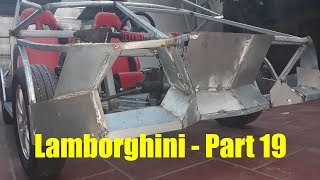 Homemade Lamborghini car part 19 - Making a 4-wheel-drive vehicle is not easy