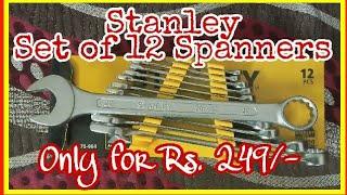 Stanley 70-964E Combination Spanner Set (12-Pieces) | Unboxing Review | PBross Unboxing