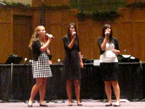 """2 Sisters and A Cousin small vocal ensemble"""" It Is Well With My Soul""""...Indiana Fine Arts 2010"""