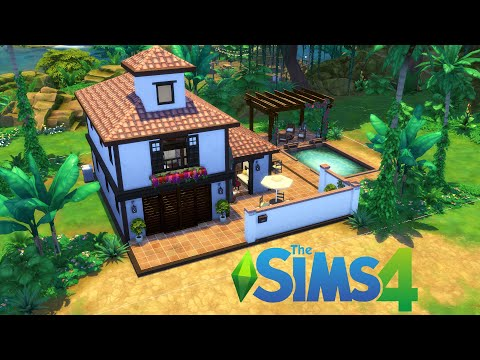 The Sims 4 Speed Build! | Jungle Adventure Vacation Home |