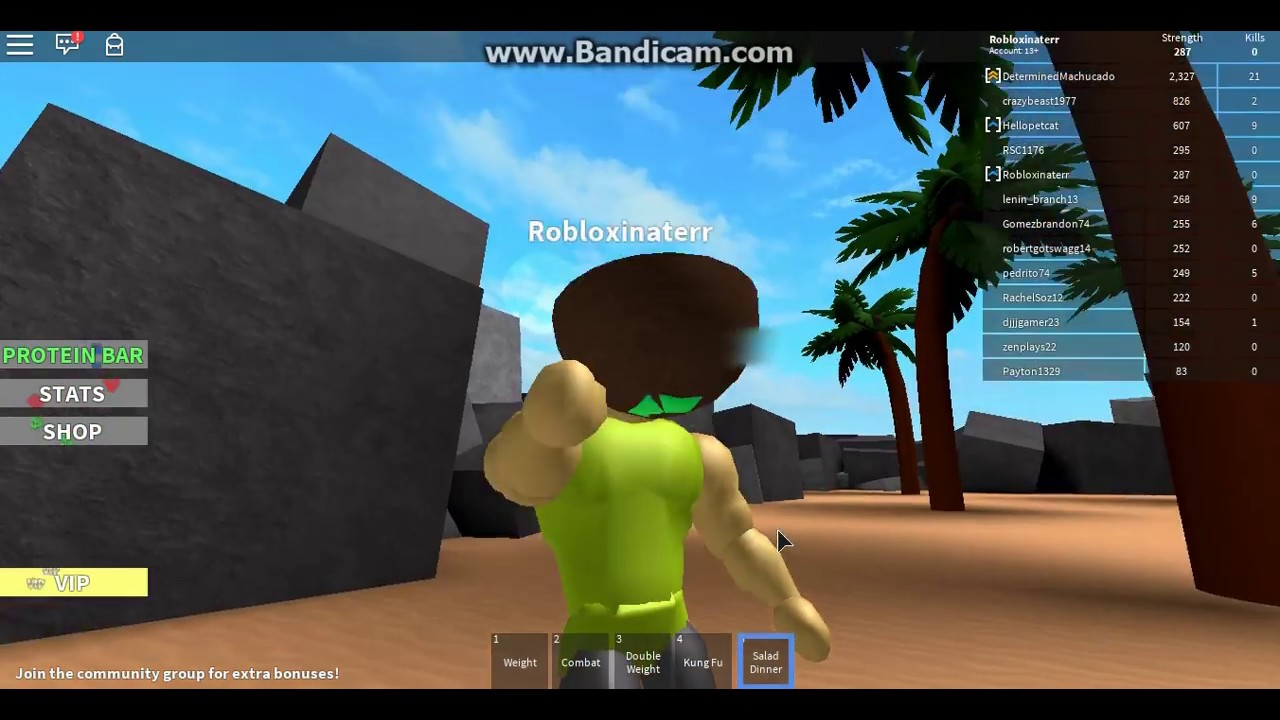 how to get stronger roblox weight lifting 2
