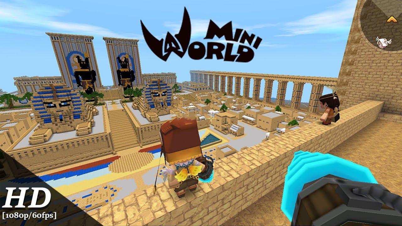mini world sandbox game mod apk
