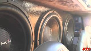 Insane Car Stereo System w/ 1LoudMofo & 6 15