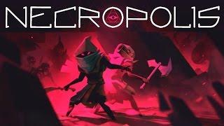 NECROPOLIS gameplay español: ¡¡DUNGEON SOULS!! [Mazmorras souls]