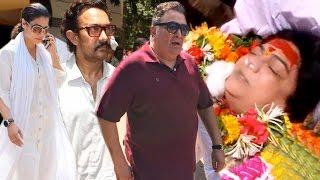 Uncut: Bollywood Celebs Gets Emotional At Last Rites Of Reema Lagoo