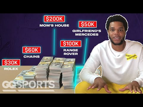 How Miles Bridges Spent His First $1M in the NBA | My First Million | GQ Sports